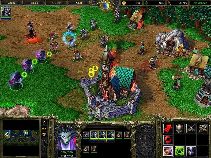 Скачать игру Warcraft 5